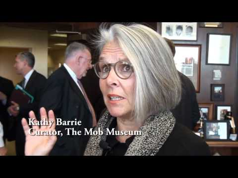 The Mob Museum Acquires Anastasia Barber Chair