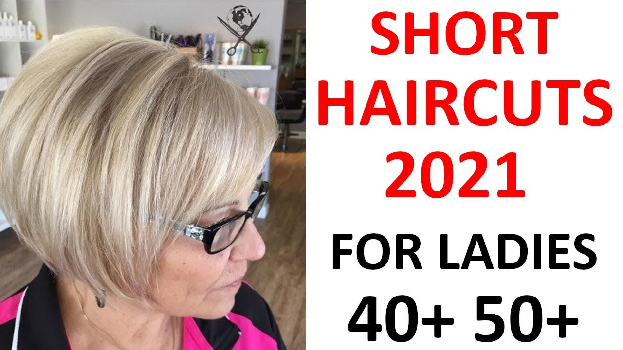 Short Haircuts 2021 For Older Women 50 Plus Youtube