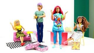 Кукла Барби перепутала подарки! —Видео скуклами про ПОДАРКИ ИСЮРПРИЗЫ— Распаковка игрушек!