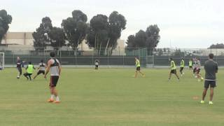Steven Gerrard Training Part 2