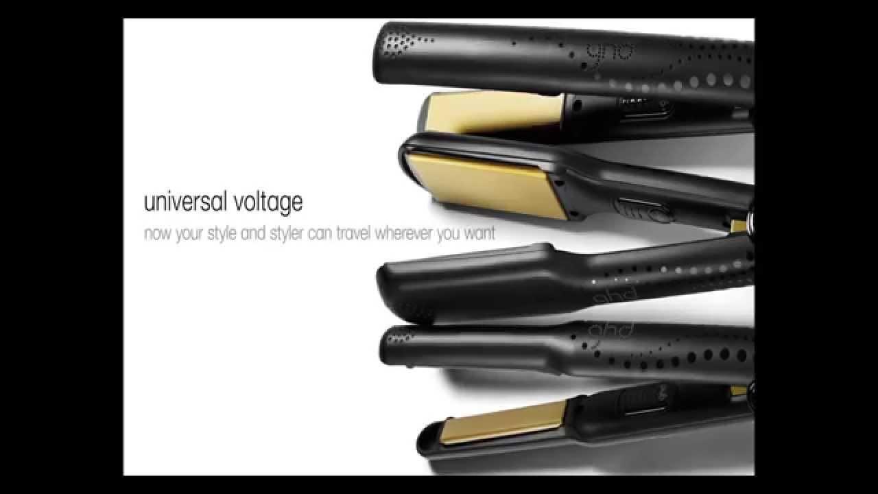GHD Žehlička na vlasy Gold Classic styler - YouTube ac250836289