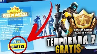 HOW TO HAVE THE *BATTLE PASS 7* TOTALLY FREE!! FORTNITE *SORTEO*