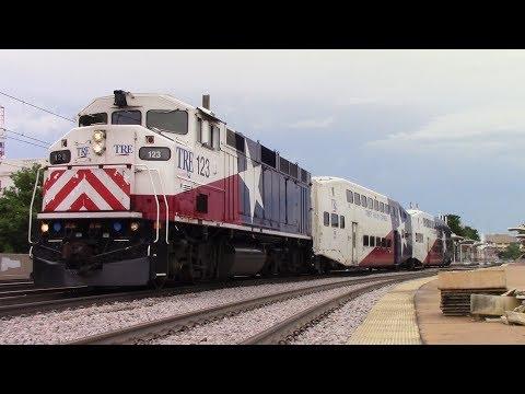 Railfaning Dallas - 7/1/17