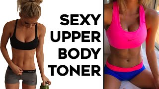 INTENSE Upper Body Workout For Women |  4 Workouts To Tone Arms, Shoulders and Upper Back!