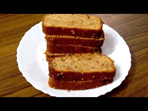 Whole Wheat Banana Bread Recipe | Atta Banana Bread