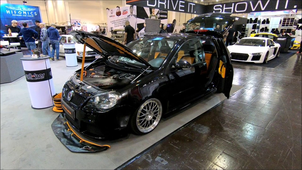 VOLKSWAGEN VW POLO 9N TUNING SHOW CAR 9N3 ! WALKAROUND + INTERIOR ...