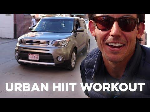Skierg HIIT Workout: I Took a Skierg to an Urban Alley