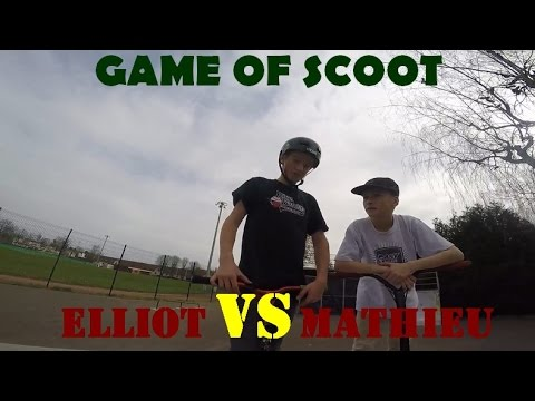 Game Of Scoot Mathieu Doyen Vs Elliot Remmiz Youtube