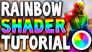 Destiny - RAINBOW SHADER TUTORIAL !!