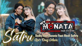 NEW MONATA OFFICIAL   SATRU ( COVER )   RINDI SAFIRA FEAT SODIQ NEW MONATA