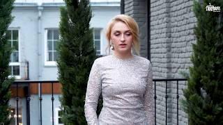 Вечернее платье-рыбка со шлейфом Luxury Booze 09