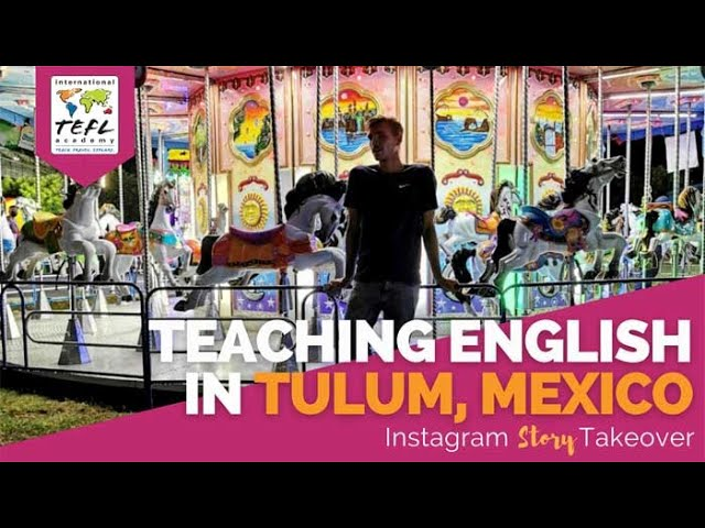 Day in the Life Teaching English in Tulum, Mexico with Zach Kukla