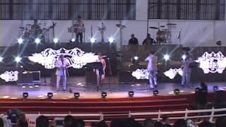 grupo versatil Vanguardia Music Durango Dgo FENADU 2014 ( popurri cumbias )