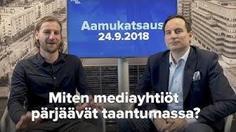 Miten Alma Media ja Sanoma pärjäävät taantumassa?