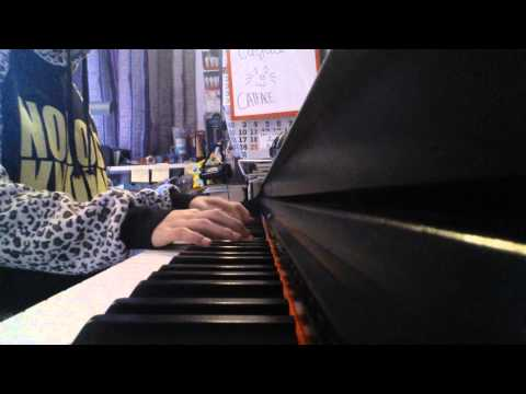 單戀雙城 OUTBOUND LOVE 很想討厭你 主題曲 PIANO COVER