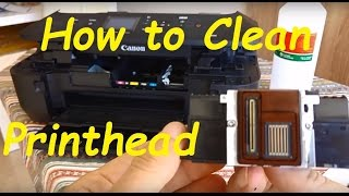 Cleaning Canon printhead FHD