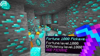 I spawned with Fortune 1000 in Minecraft UHC