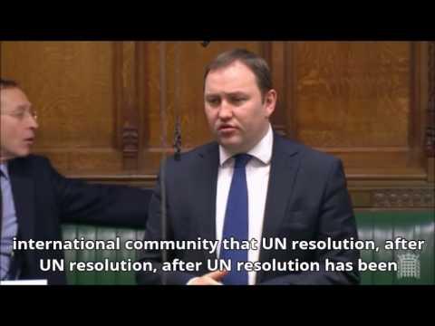 Ian Murray MP | Israeli Settlements | 09.02.17