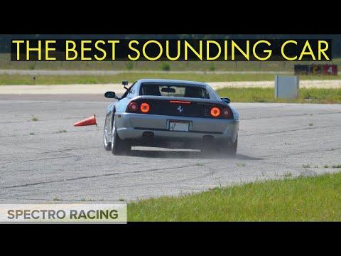 Ferrari F355 Berlinetta: Autocross - SOUNDS INSANE