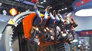 New Roller Coaster & Theme Park Tech At IAAPA 2019! | Ride POVs & Attractions Expo!