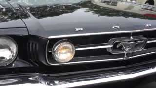 ~~~SOLD~~~1965 Ford Mustang Convertible For Sale~289~Automatic~Black/Black~Pony Interior