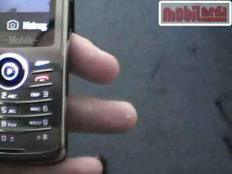 Sagem my721X mobile phone preview