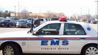 Ocean Park Vol Rescue Squad Unit 122, VB-EMS Zone Medic 16 & VBFD Engine 3P at Medical Emergency