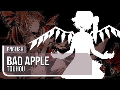 """Bad Apple"" (Touhou) English Cover By Lizz Robinett"