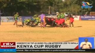 Kenya Cup Rugby: Homeboyz go top as Quins follow after KCB lose to Impala