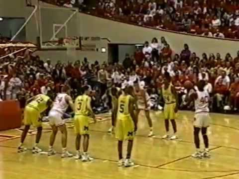 Indiana vs Michigan - 2/14/1993