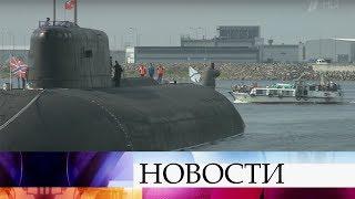 На полном ходу подготовка к празднованию Дня Военно-Морского флота России.