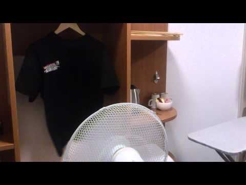 HOW to Dry clothes in a hotel room