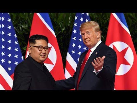 Trump, Kim sign 'comprehensive document' after historic summit