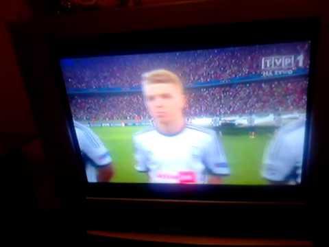 VI runda eliminacji LM. Steaua vs Legia HYMN LIGI MISTRZÓW