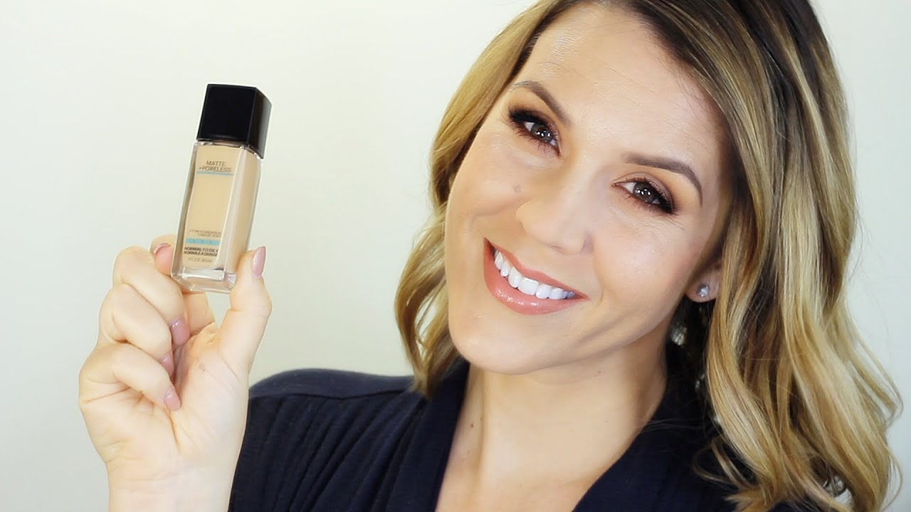 Maybelline Fit Me Matte Poreless Foundation Review Demo Youtube Airyrooms 30ml