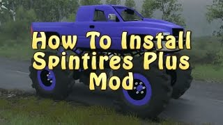 Spintires Mods - How to Install and use Spintires Plus Mod & Maps - Version 3-3-16