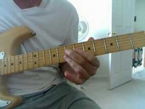 Blues Lesson Passing Chord Heaven Youtube