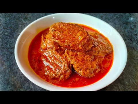 ନିରାମିଷ କିନ୍ତୁ ସ୍ୱାଦ ପୁରା ମାଛ ତରକାରୀ ପରି | veg fish curry recipe | vegetarian fish using raw banana