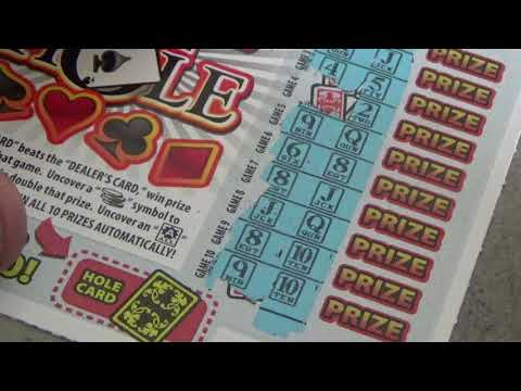 210 Lottery Scratch Off Tickets From Nevada Arcade Channel & Yoshi