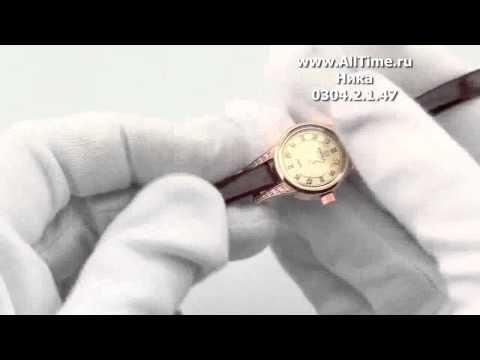 Женские наручные золотые часы Ника 0304.2.1.47