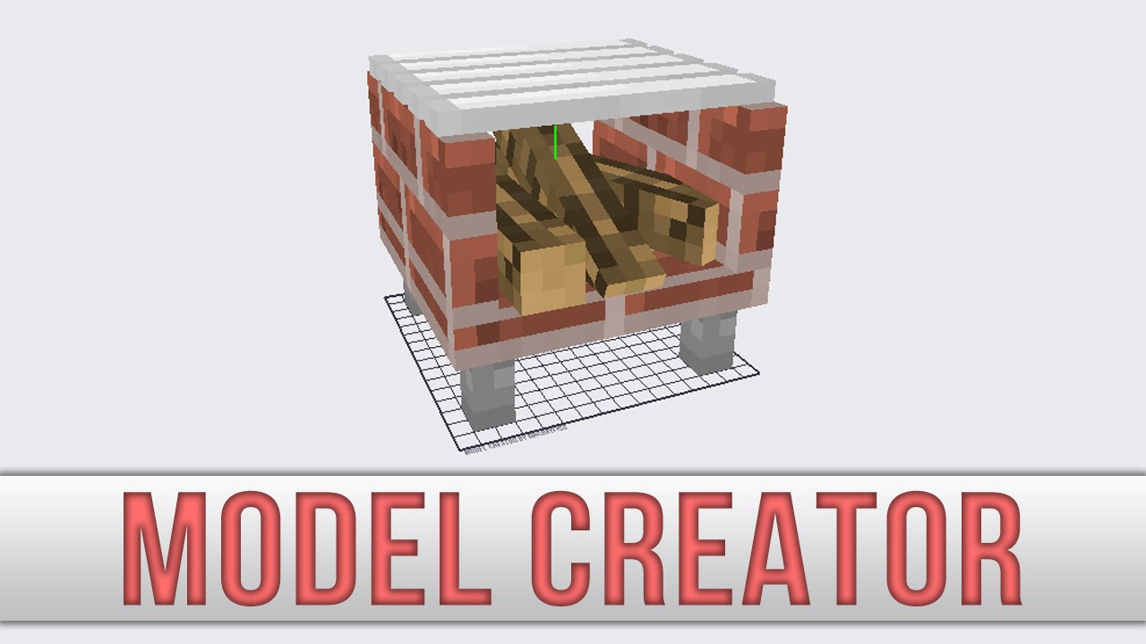 Minecraft model creator preview youtube Minecraft 3d model maker