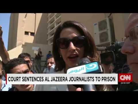 Al Jazeera journalists sentenced to 3 years after retrial in Egypt