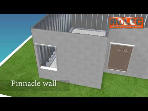 PinnacleLGS System| Light Gauge Steel Buildings  ROLEC Construction Builders SA Cape Town