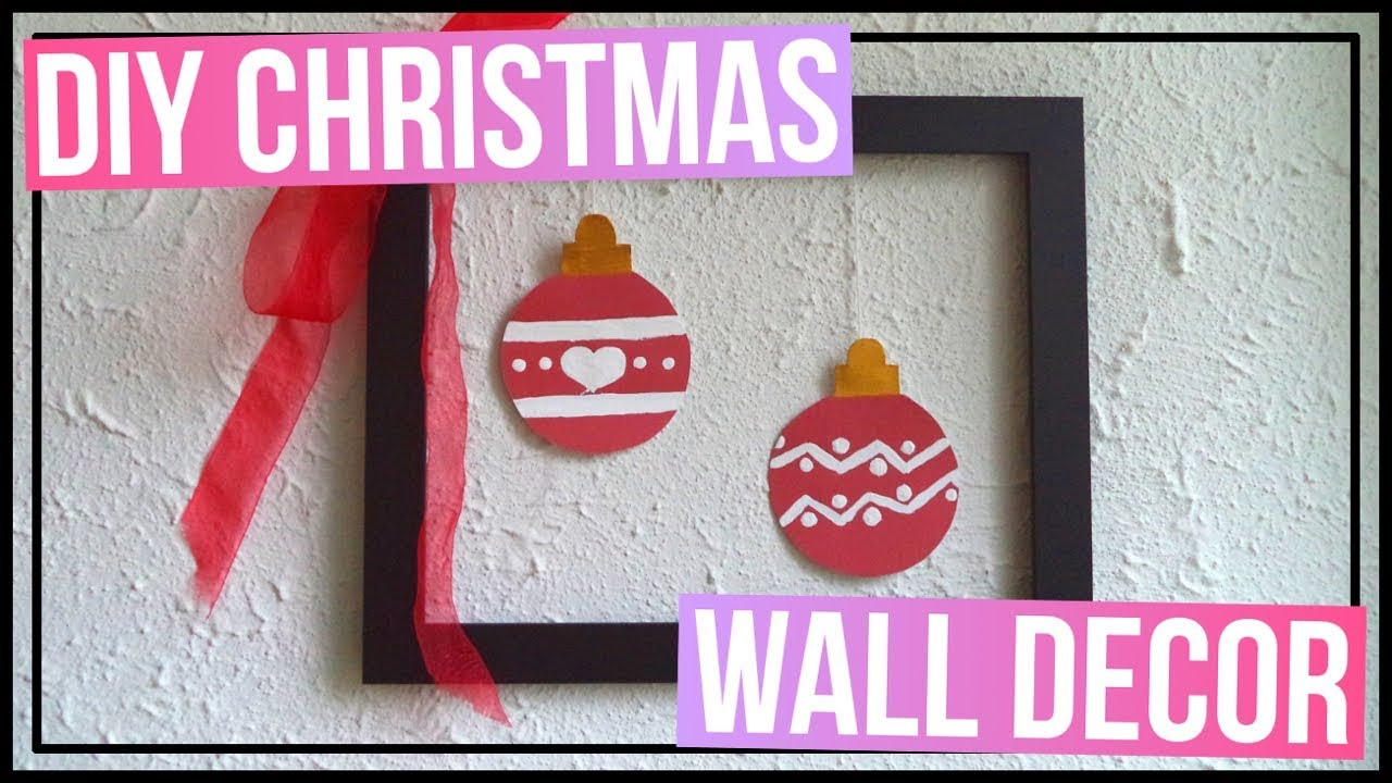 Diy christmas wall decor how to make a christmas frame easy diy christmas wall decor how to make a christmas frame easy diy paper ornaments amipublicfo Image collections
