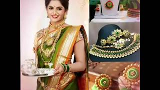 Navratri Day 12-10-2018 ||Beautiful Green Color All Collection For Womens||