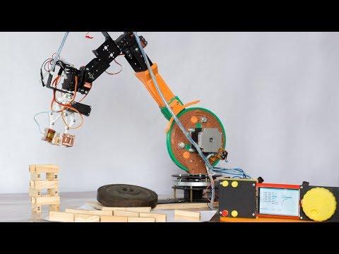 Шестиосевой робот манипулятор на Ардуино Due – Ro6Axial