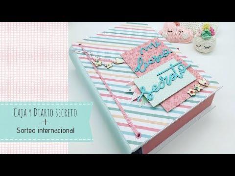 Tutorial, Caja y diario secreto + (sorteo internacional finalizado)