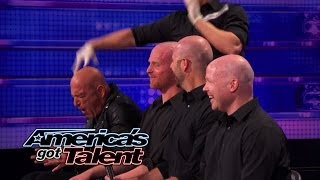 Bald Man Bongos: Howie Mandel Gets His Head Slapped - America
