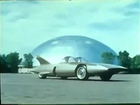 Harley Earl Firebird III Movie  showing first ever on board computers in cars