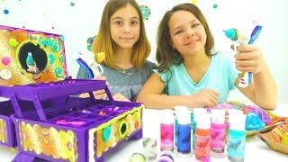 Игры для девочек - волшебная шкатулка Давинчи